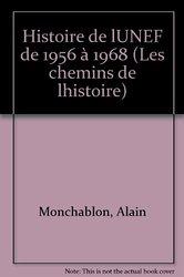 Image Histoire de l'UNEF Alain MONCHABLON