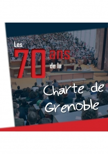 Logo 70 ans Charte de Grenoble 1946.2016