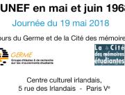 UNEF en Mai 68 - Bannière Site