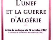 couverture UNEF GUERRE ALGERIE