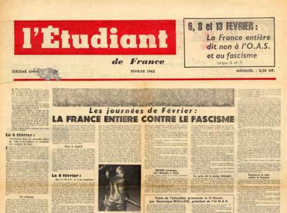 EDF CHARONNE FEVRIER 1962